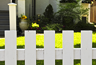 Picture of a residential fence