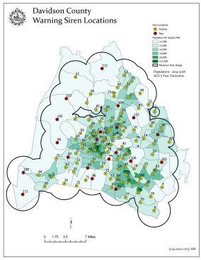 2020 siren locations map
