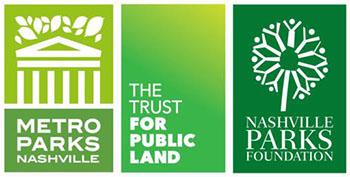 Plan To Play Partner Logos: Metro Parks, Trust for Public Land, Park Foundation