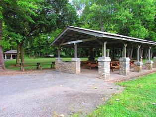Edwin Warner Shelter Area 6
