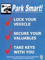 Park Smart! sign