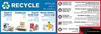 recycling cart sticker