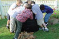 Sylvan Park composting bin